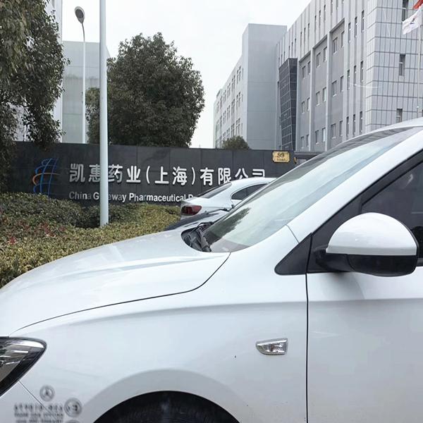 欧升玻璃钢案例:上海凯惠药业-无机玻璃钢风管