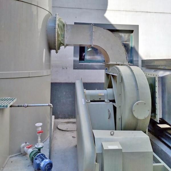 欧升玻璃钢案例:常熟市城西污水处理厂
