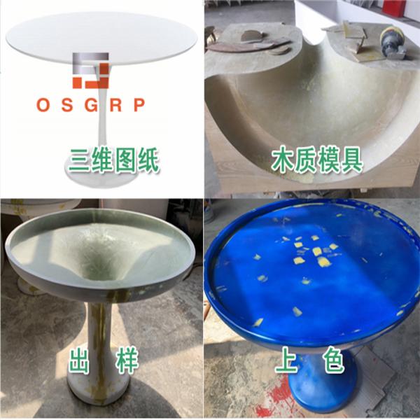 青岛玻璃钢制品加工