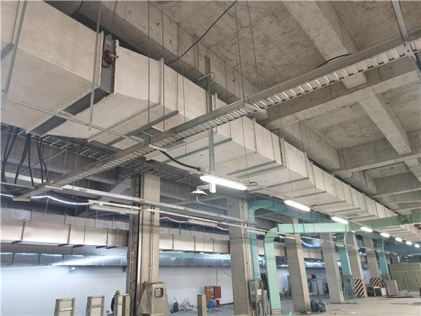 上海泰和污水处理厂项目[无机玻璃钢风管]
