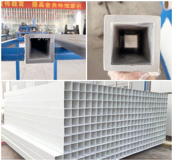 玻璃钢方管生产库存图