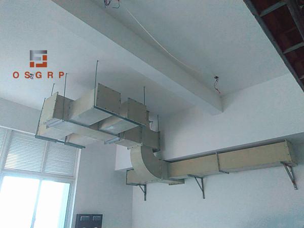 济川药业 玻璃钢风管